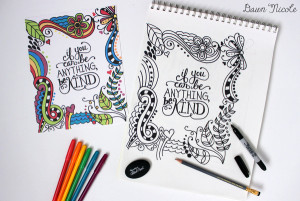 Wellbeing Wednesday: Colouring in for adults' relaxation