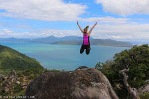 The Summit Walk Fitzroy Island + GIVEAWAY CR compression tights