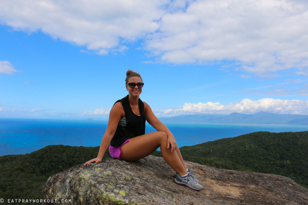 Summit Fitzroy Island Eat Pray Workout-73