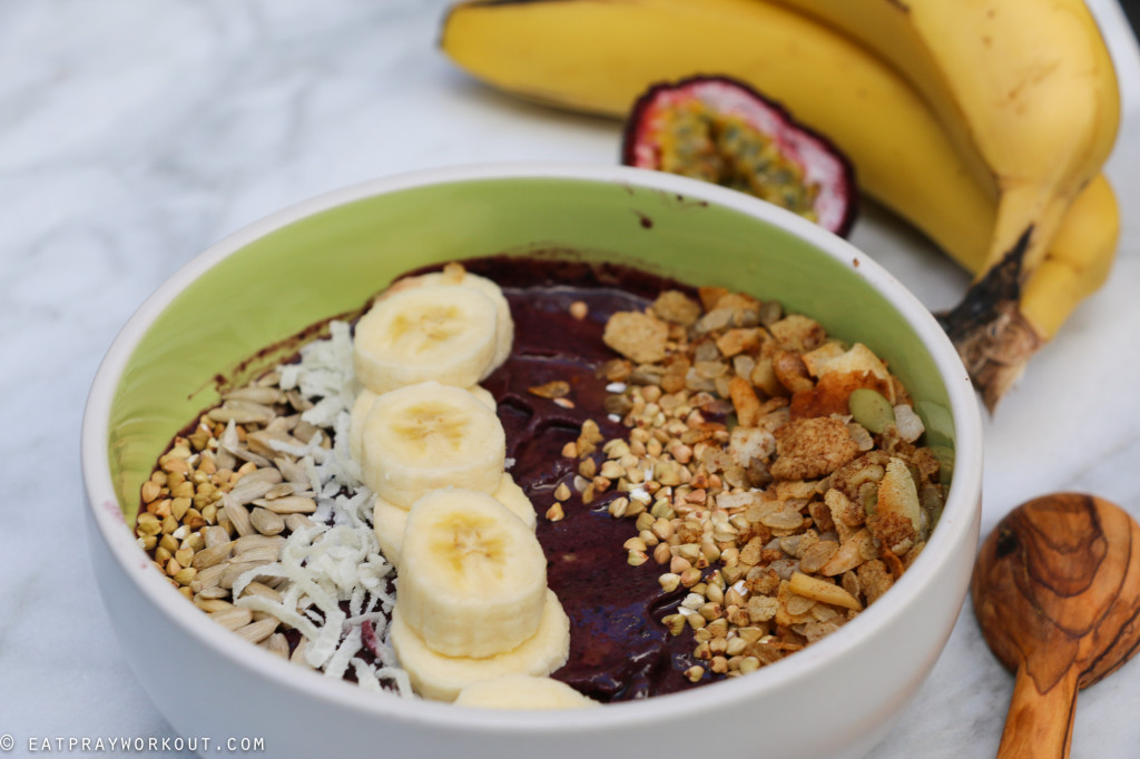 Acai Bowl and Granola recipe Eat Pray Workout-5