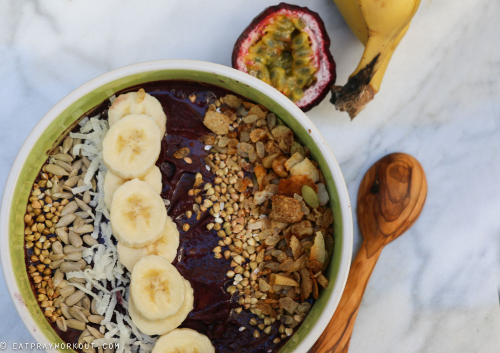 Acai Bowl and Granola recipe Eat Pray Workout-6