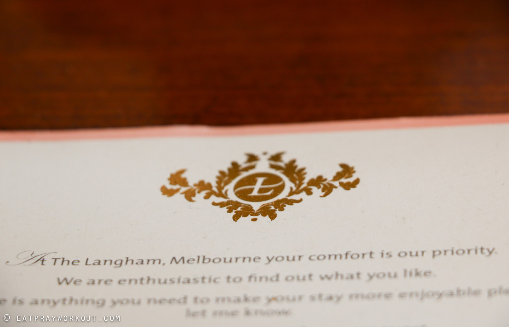 The Langham Melbourne Riverside Club Rooms and Club Langham Eat Pray Workout-9