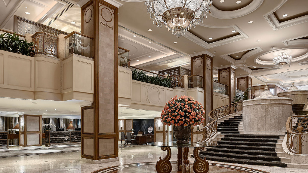The lobby langham melbourne photo from official site