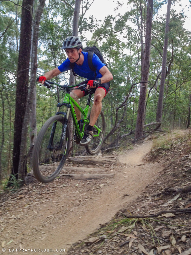 Best Mountain Biking in Brisbane eat pray workout-2