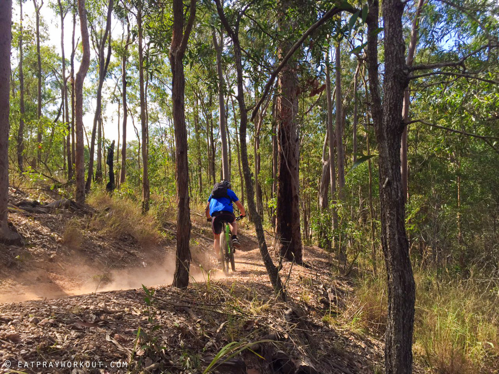 Best Mountain Biking in Brisbane eat pray workout-3