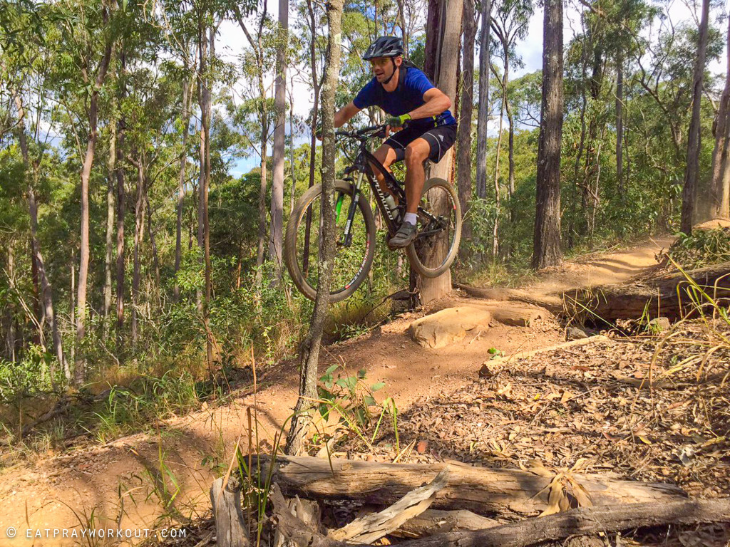 Best Mountain Biking in Brisbane eat pray workout-4