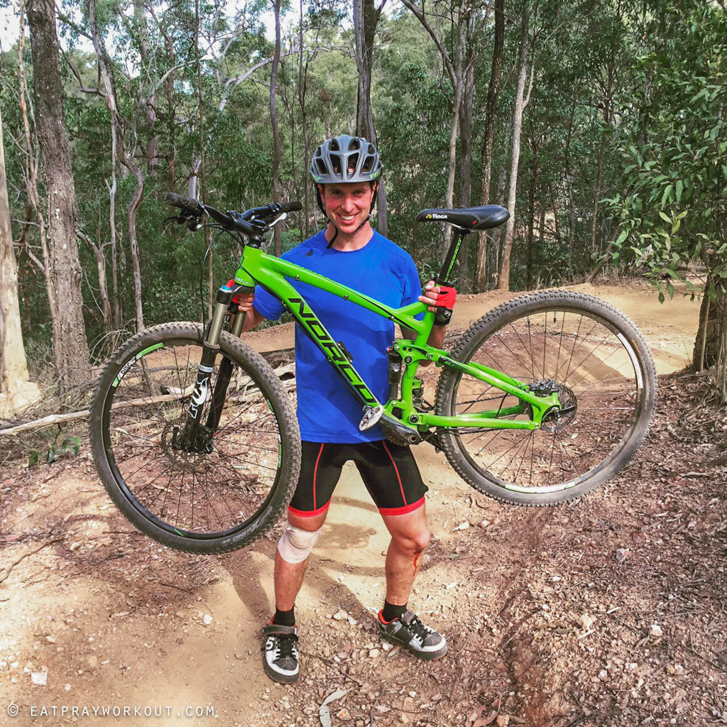 Best Mountain Biking in Brisbane eat pray workout-5