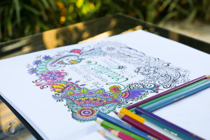 Wellbeing Wednesday – Meditations colouring in book GIVEAWAY!