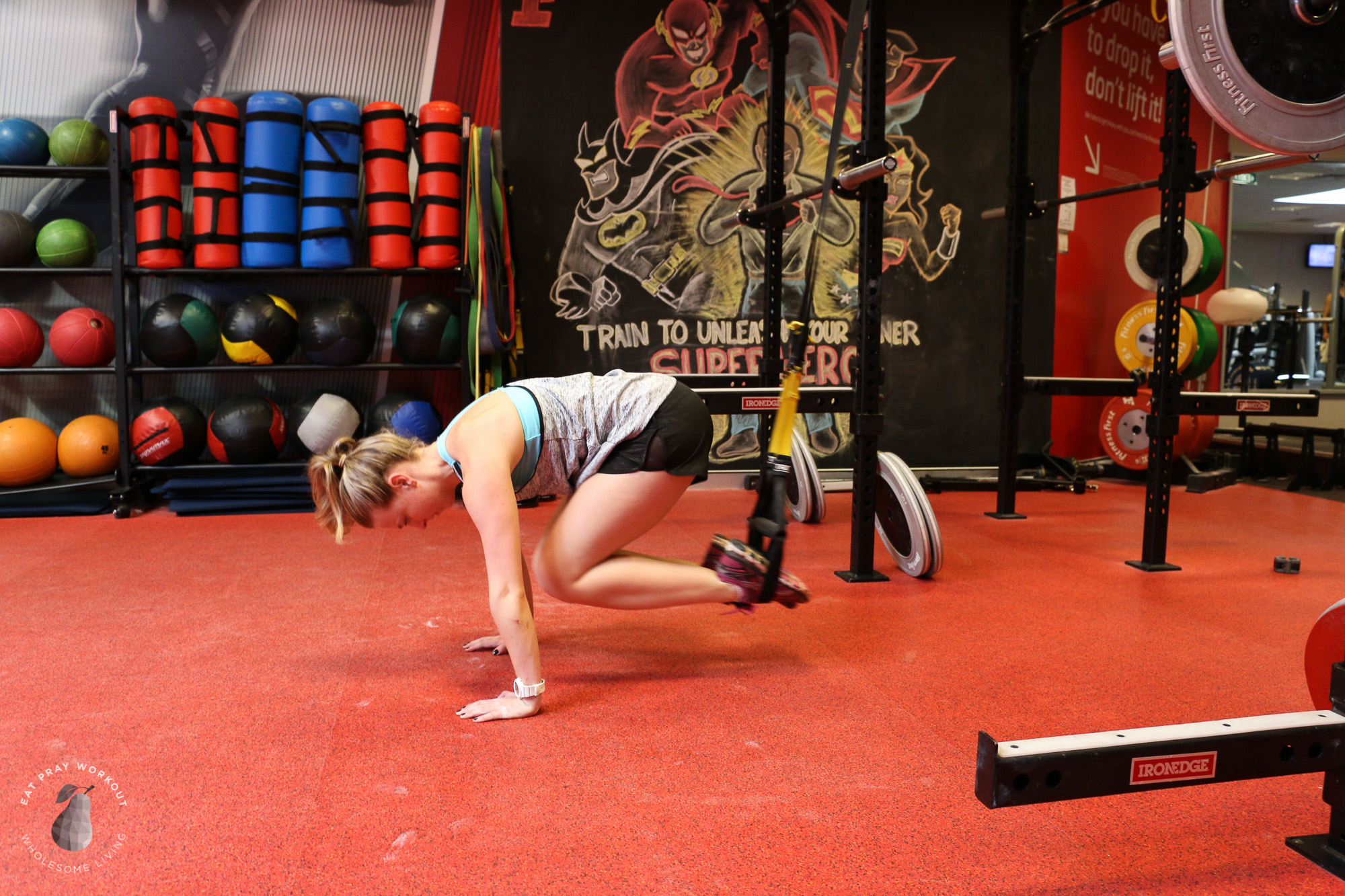 picture relating to Printable Trx Workout known as TRX Barbell circuit