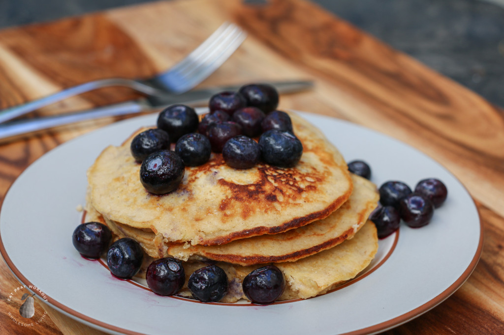 Coconut Flour Pancakes eat pray workout-3