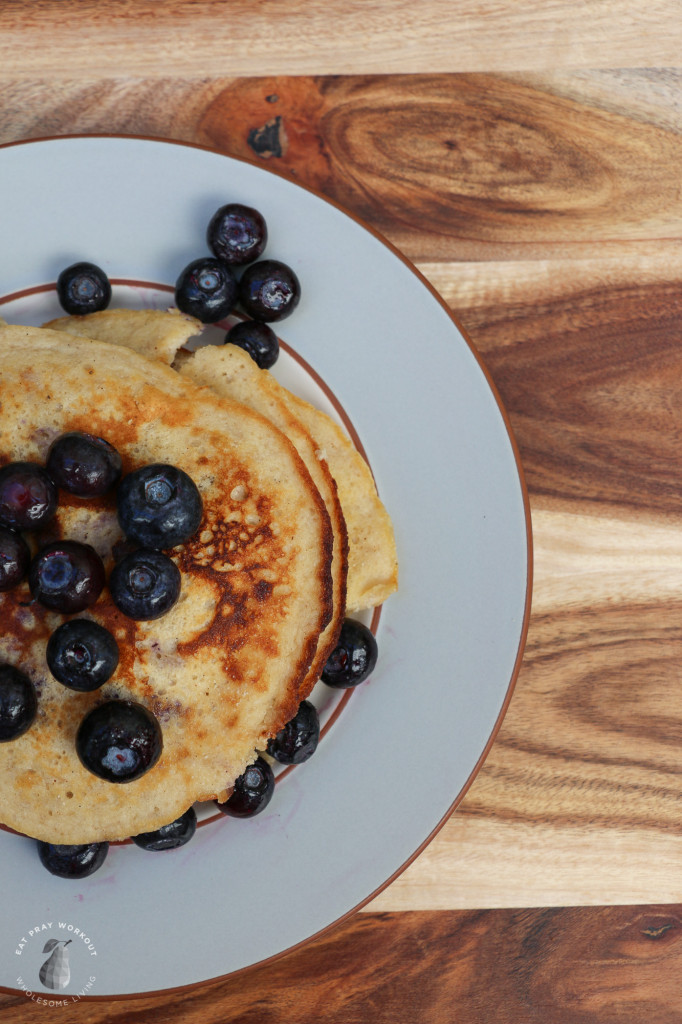 Coconut Flour Pancakes eat pray workout-5