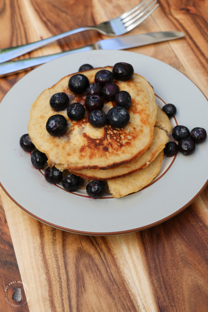 Coconut Flour Pancakes eat pray workout-7