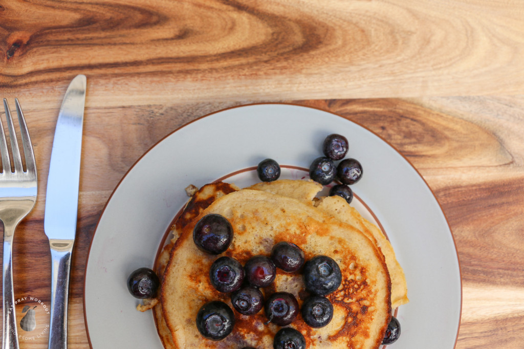 Coconut Flour Pancakes eat pray workout-8
