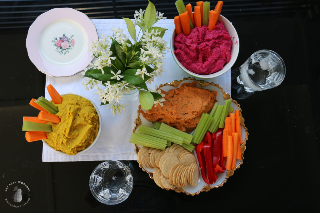 Flavoured hummus dip Trio Eat Pray Workout_-14
