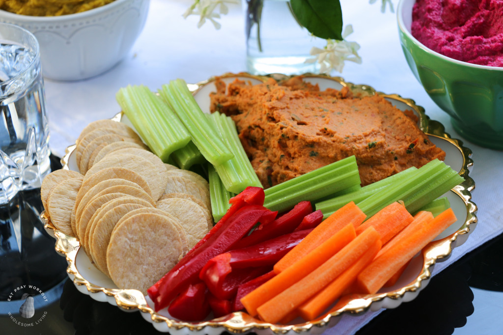 Flavoured hummus dip Trio Eat Pray Workout_-7