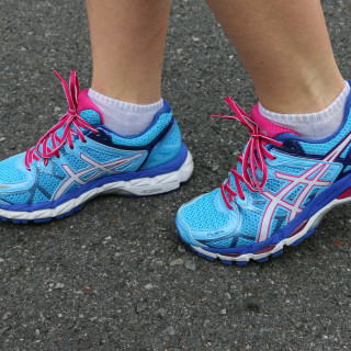 ASIC Womans Kayanos 2015 - On Foot