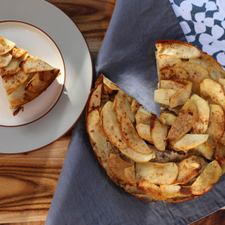 Healthy Sugar Free Apple Cake