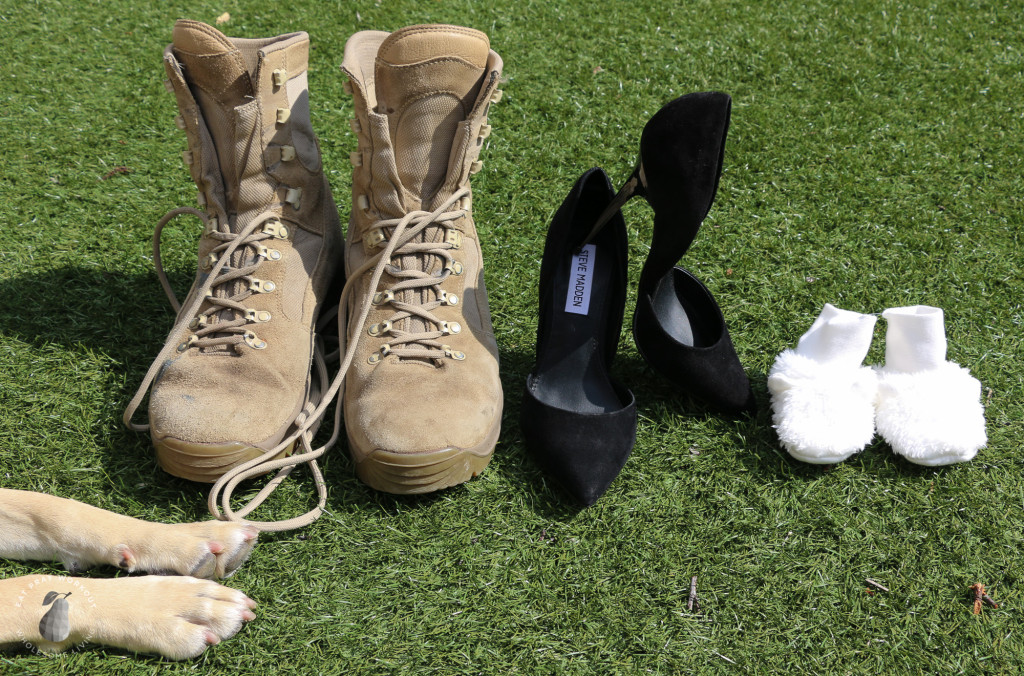 army boot baby announcement Eat Pray Workout-3