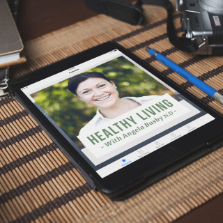Healthy living with Angela Busby podcast