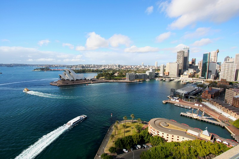 Sydney Harbour Pylon Lookout View