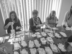 Vision Sisters – we fundraised for and packed 200 birthing kits!