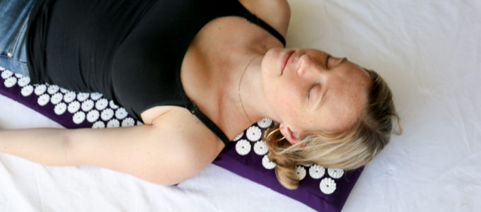 Getting to the Pointy End of Relaxation with an Accupressure Mat