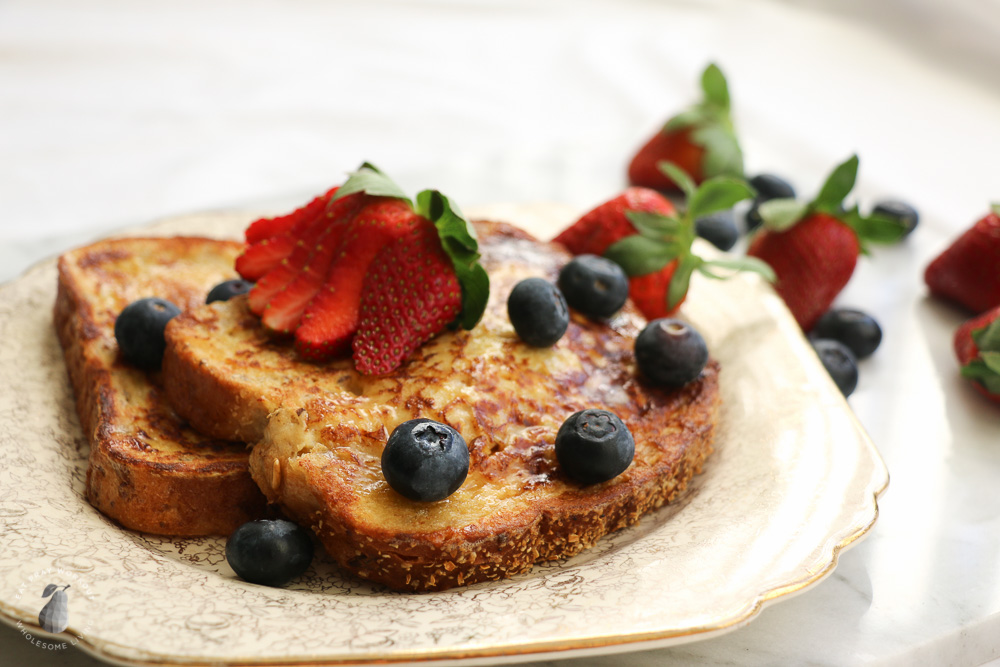 Healthy French Toast - Eat Pray Workout