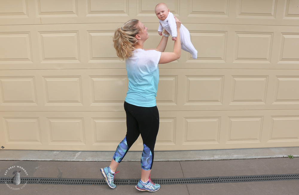 mum bub home workout post pregnancy fitness