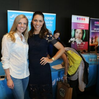Amy Darcy Australia top health blogger from Eat Pray Workout with Giann Rooney at the Melbourne Blogger's Brunch 2016