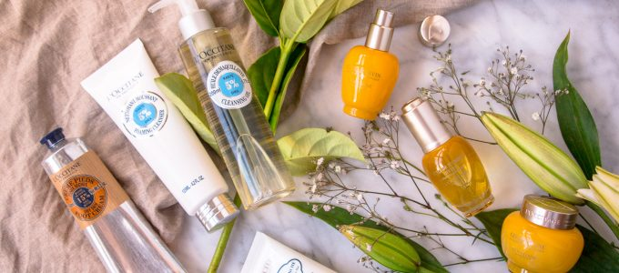 My Winter Skincare Routine: For a radiant & well hydrated glow + L'Occitane Giveaway (valued at $146)!
