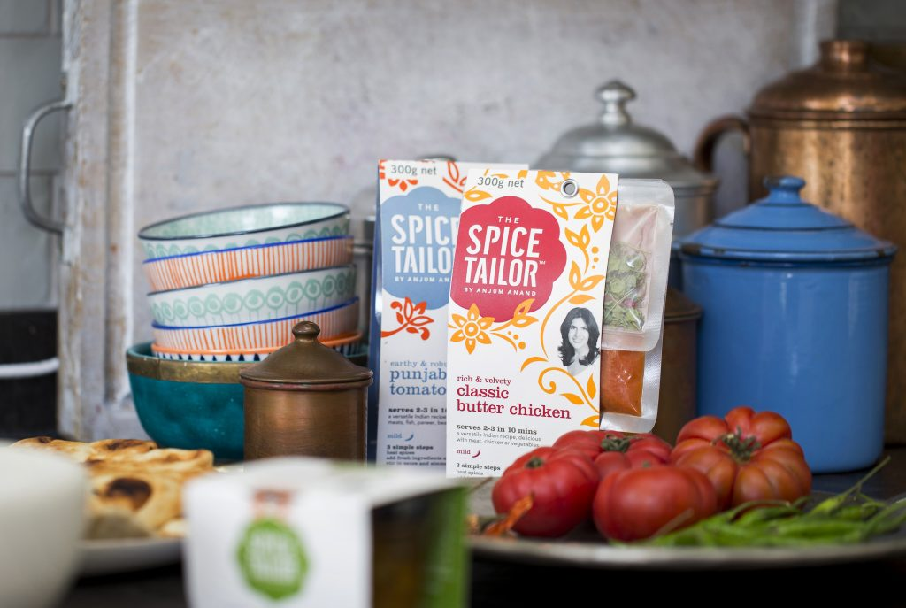 how to make indian healthier with celebrity chef Anjum Anand the spice tailor range