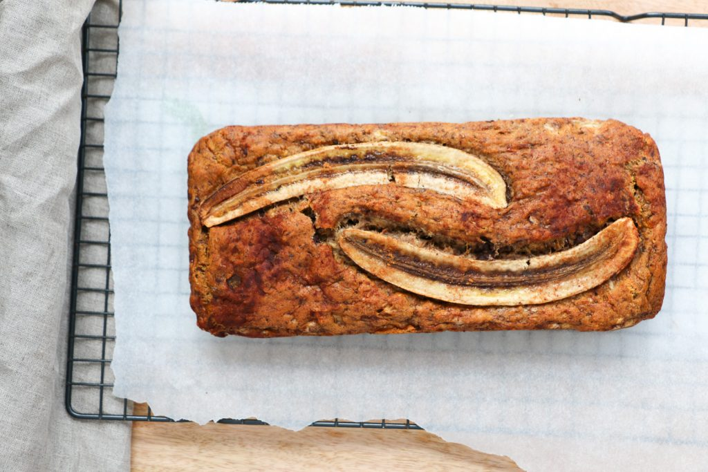Simple & Healthy Banana Bread (Low FODMAP, gluten & dairy free)