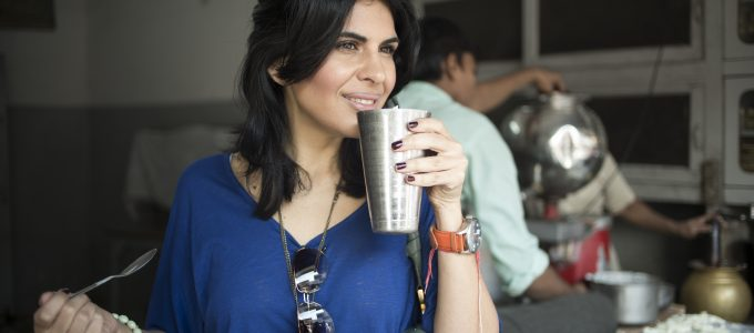 How to make Indian Healthier with Celebrity Chef Anjum Anand + cookbook & spices giveaway!