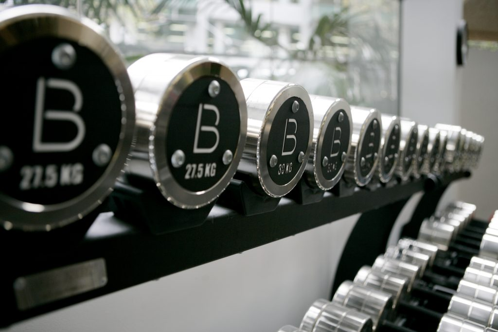 base body babes dumbbells