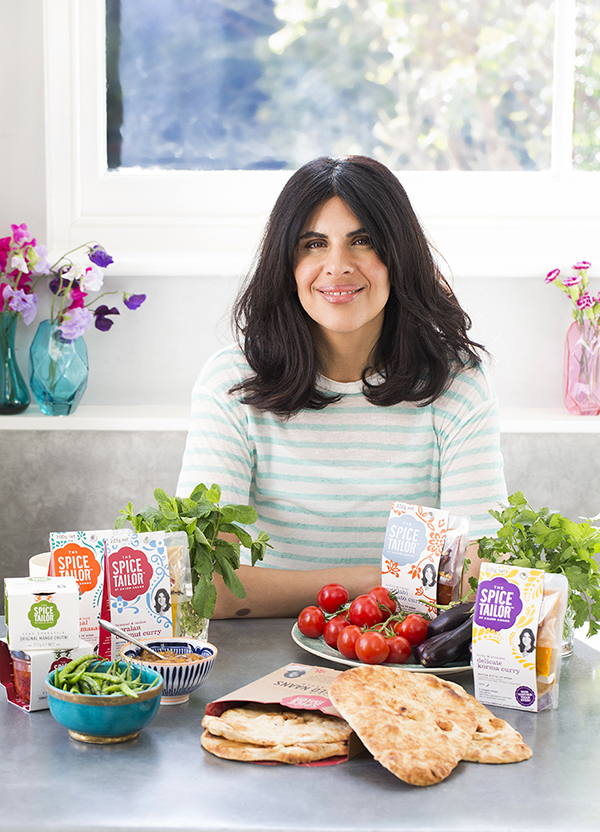 how to make indian healthier with celebrity chef Anjum Anand with the spice tailor range