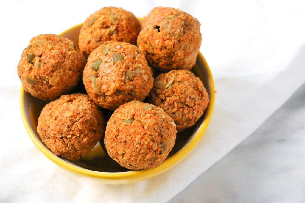 Carrot Cake Bliss Balls (low FODMAP)