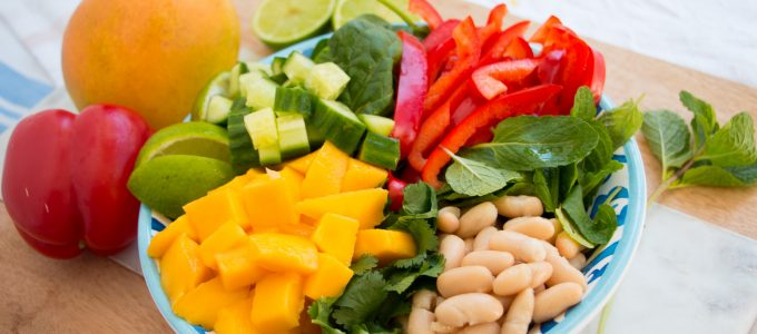 The Perfect Summer Mango Nourish Bowl