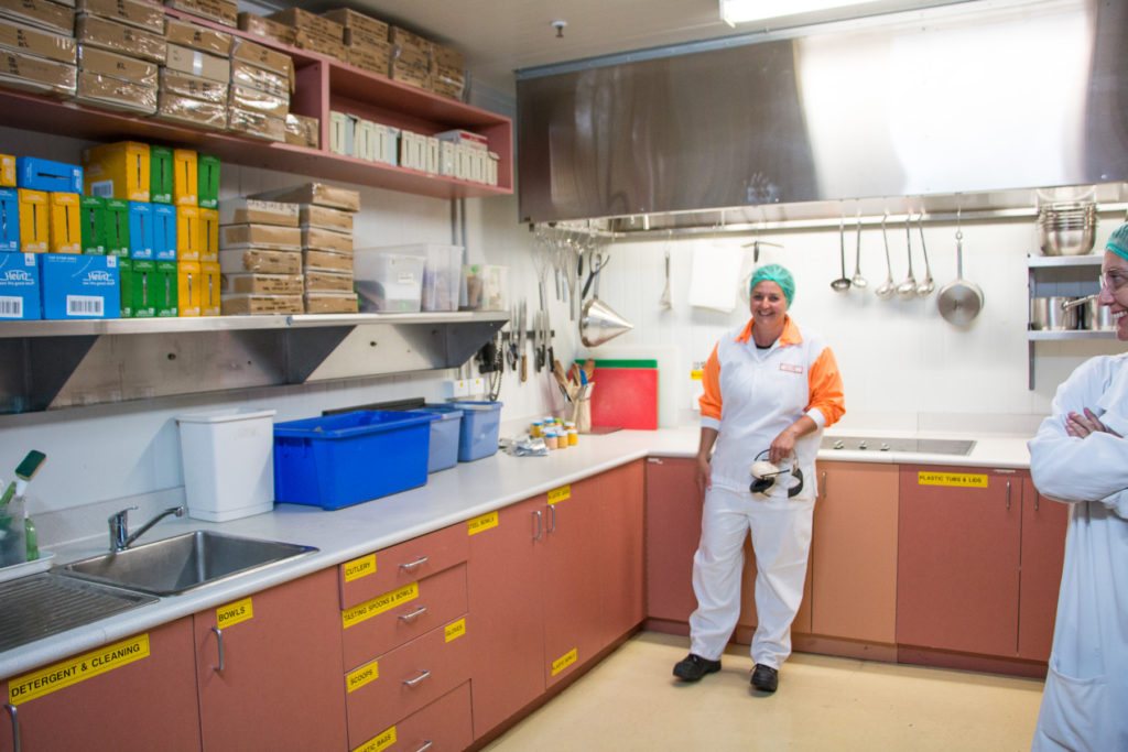 Inside the heinz infant food factory baby food making for pouches and jars in factory kitchen in echuca