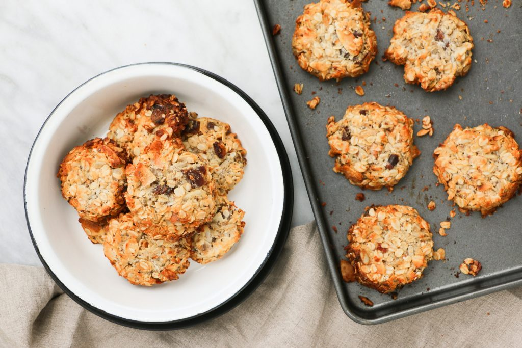 low GI breakfast recipes for families crunchy muesli cookie recipe