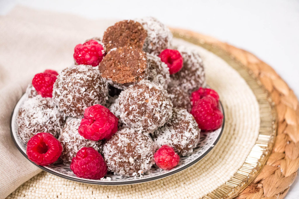 Nutty Coconut Chocolate Bliss Balls Recipe