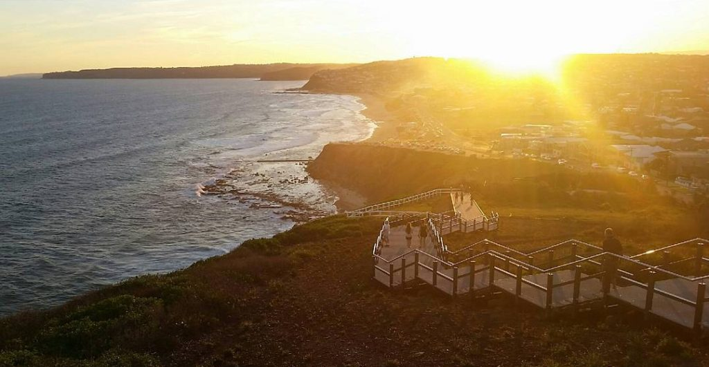 Healthy Weekend Getaway in Newcastle ANZAC walk
