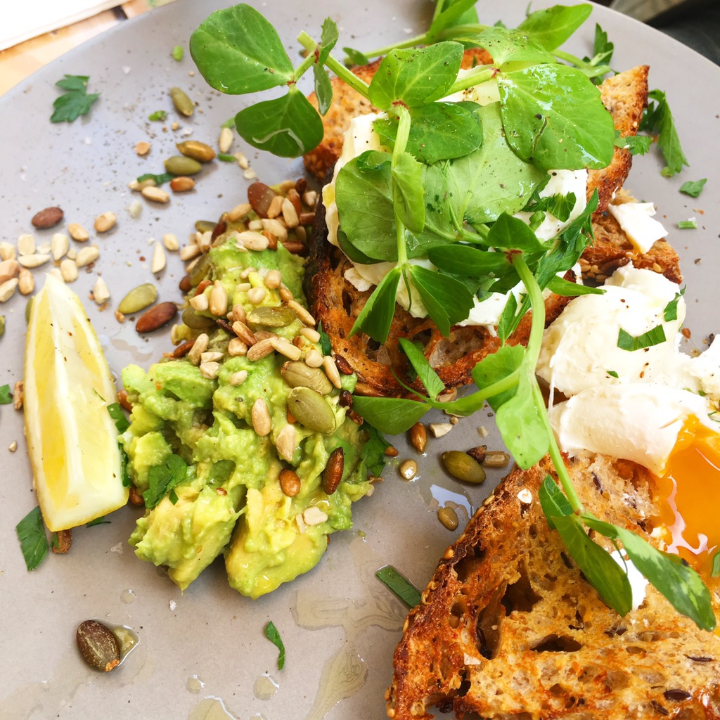The Best Healthy Breakfast and Lunch Cafes in Canberra local press coffee breakfast avocado on toast with eggs kingston foreshore