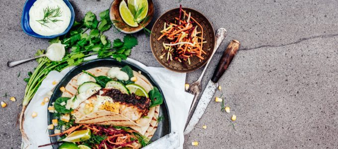 Festive Mexican Fish Tortillas