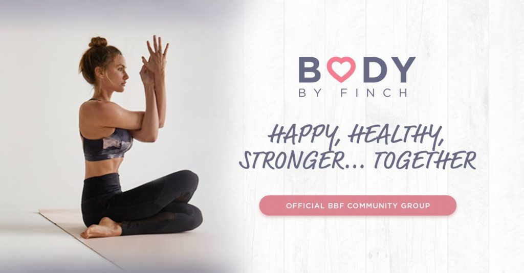 BODY BY FINCH – a holistic health and wellness program Facebook community