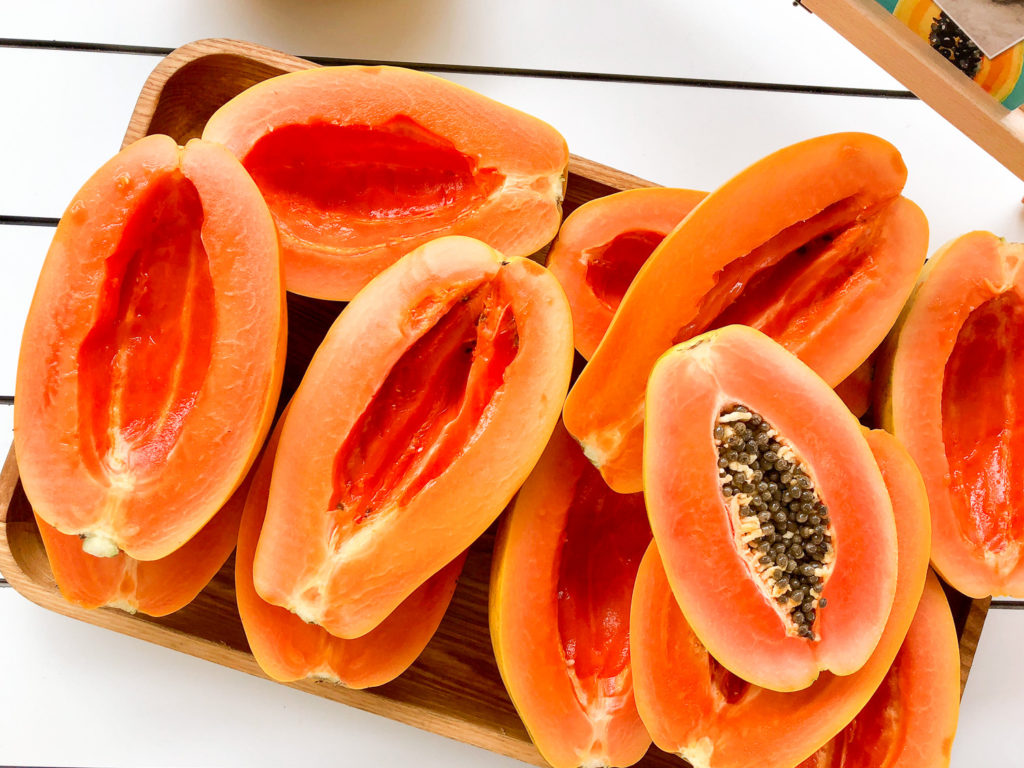 How to prepare a Australian Papaya