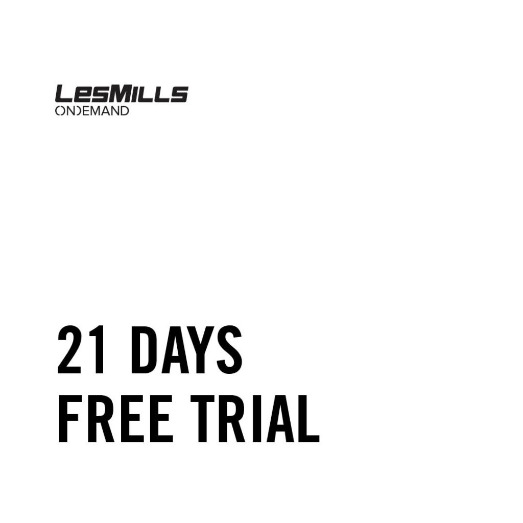at home workout videos les mills free 21 day trial