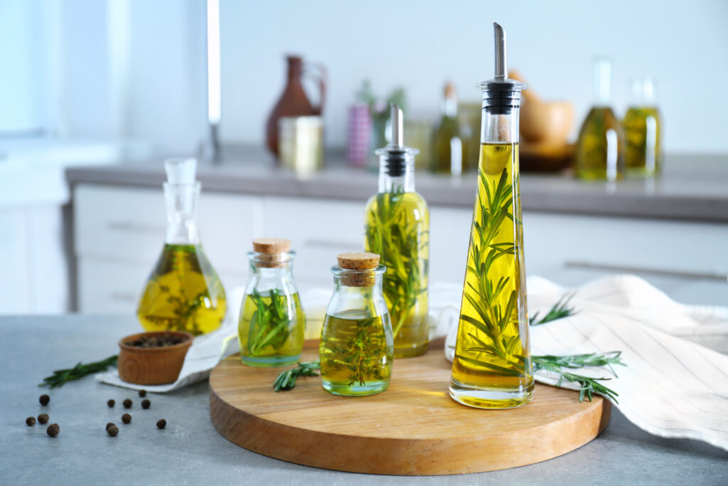 easy steps to infusing your own olive oil rosemary thyme herbs